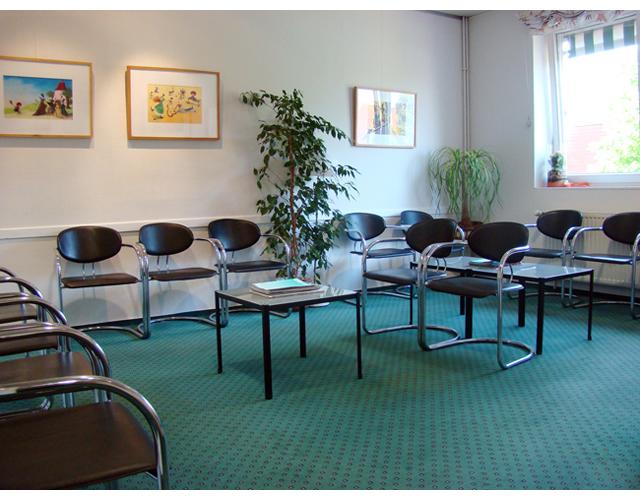 Hausarztpraxis 116 Wartebereich